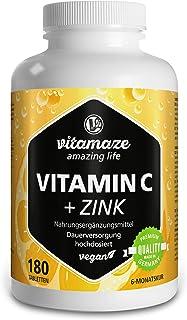 Vitamaze® Vitamina C 1000mg + Zinc para el sistema
