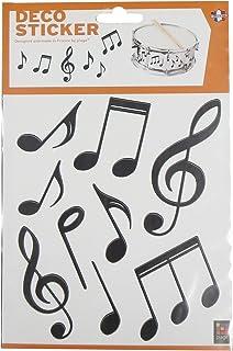 plage Sticker XS, Vinyle, Multicolore, 2 Planches de 18,5 x 15 cm