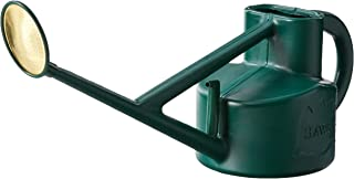 Bosmere Haws Plastic Outdoor Long Reach Watering Can, 1.3-Gallon/5-Liter, Green - V115