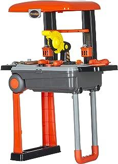 Smartcraft Tool Set , Children's Twist Trolley Case Workbench 2 in 1 Tool Set