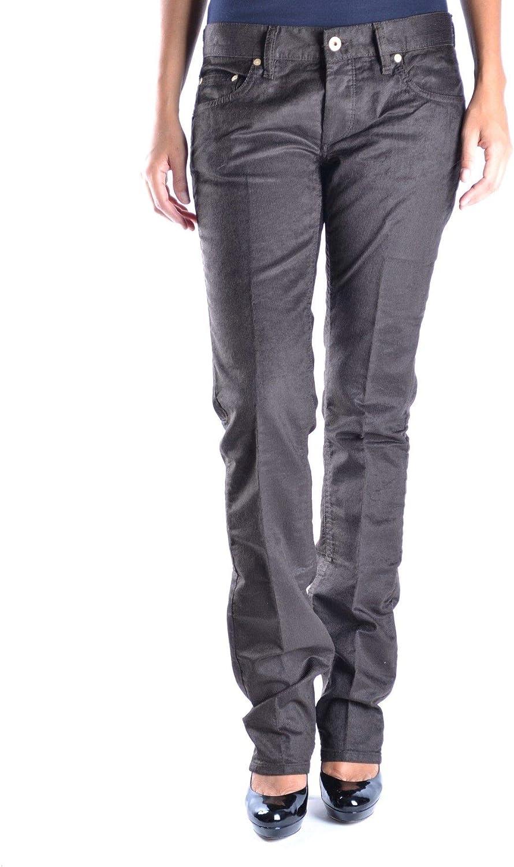 Mauro Grifoni Women's MCBI14651 Brown Cotton Pants