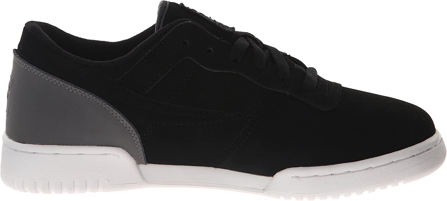 Fila Original Fitness Lea Classic Sneaker Uomo Black Castle Rock White