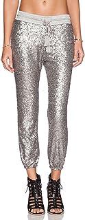 ASMAX HaoDuoYi Womens Spakle Sequin Punk Style Crop...