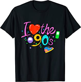 I love the 90s 90er Party Outfit Retro T-Shirt