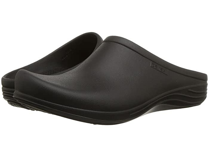 Aetrex  Lynco Clog (Black) Womens Clog Shoes