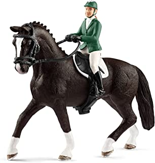 Schleich SC42358 Showjumper with Horse Figurine