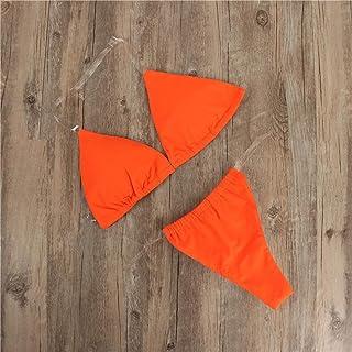 Women Bandeau Bandage Bikini Set ❀ Ladies Two Piece Swimwear Solid Fashion Swimsuit Push-Up Brazilian Beachwear