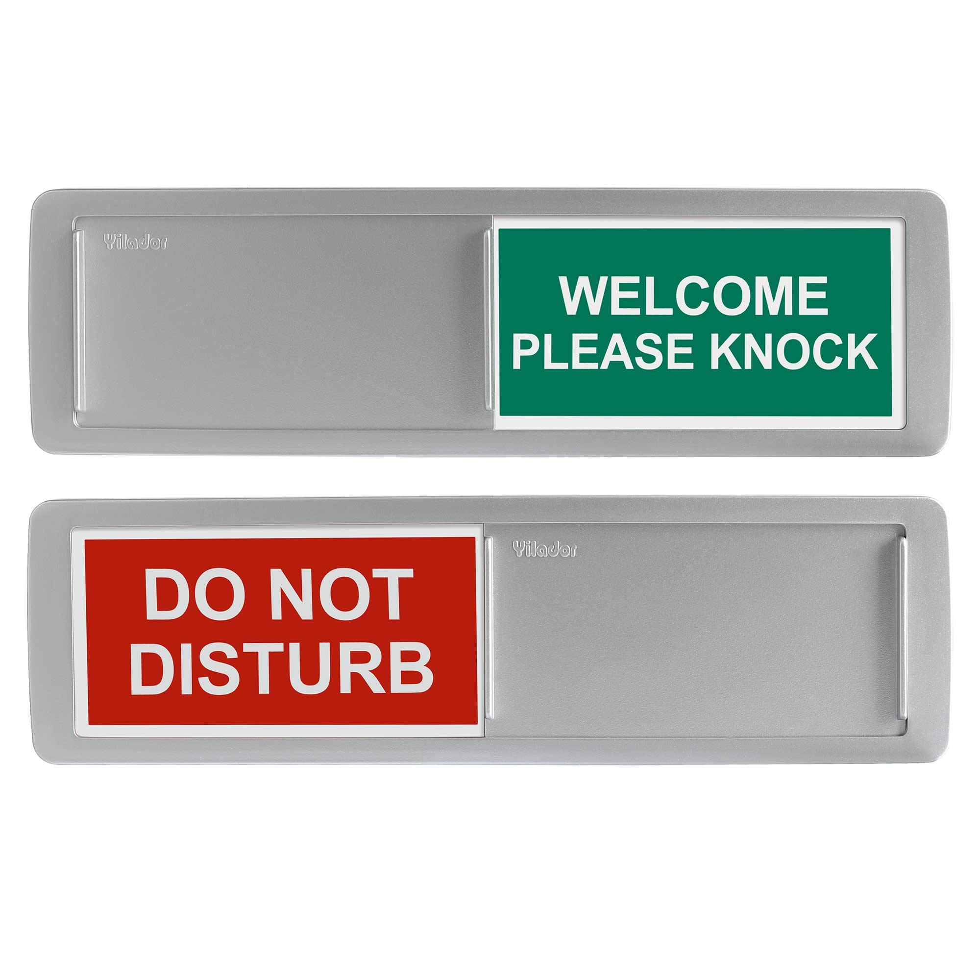 Green // Red Edition Viro In//Out Sliding Door Sign