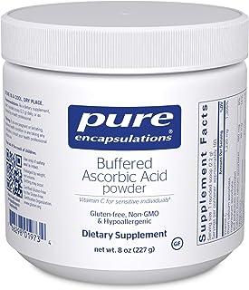Pure Encapsulations - Buffered Ascorbic Acid Powder - Vitamin C Supplement for Sensitive Individuals - 8 Ounces