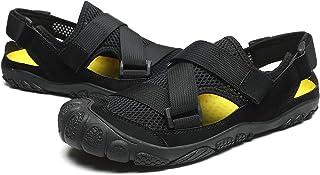 SAIYUAN سريع الجفاف للرجال حافي القدم أحذية الرحلات، أحذية رياضية خفيفة الوزن لقارب الكاياك الشاطئي