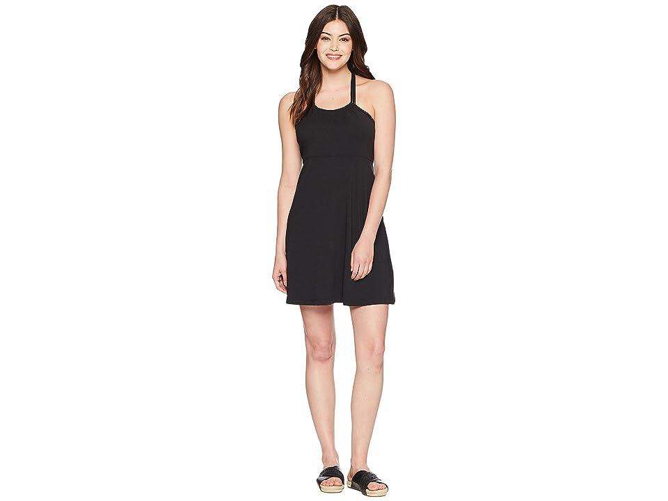 Prana Pristine Dress (Black) Women