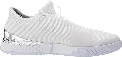 Footwear White/Footwear White/Silver Metallic