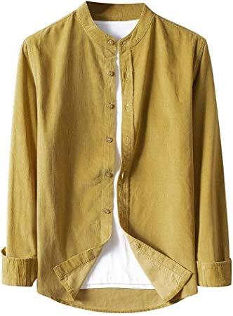Briskorry - Camisa para hombre, de estilo casual, ajustada ...