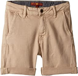 7 For All Mankind Kids Classic Shorts (Little Kids/Big Kids)
