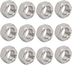 uxcell Hex Nuts, M12x1.5 UNF 304 Stainless Steel Thread Hexagon Nut 12pcs