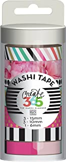 me & my BIG ideas Washi Tape Tube, Peony Florals