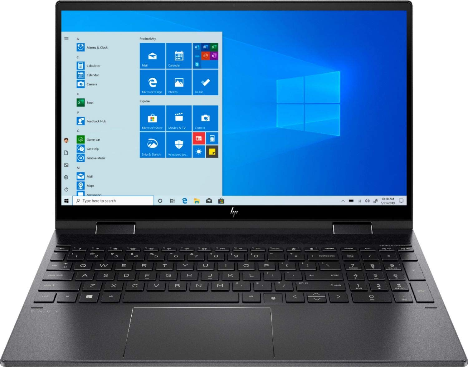 2020 Newest HP ENVY x360 2-in-1 Laptop, 15.6