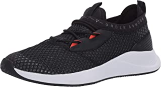 Under Armour UA W Charged Breathe SMRZD, Women's Road Running Shoes,Black (Black/White Jet Gray