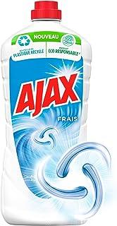 AJAX - Frais - Produit Ménager Sol & Multi Surfaces - À Utiliser Pur ou Dilué pour Nettoyer Toute la Maison - Sans Rinçage...