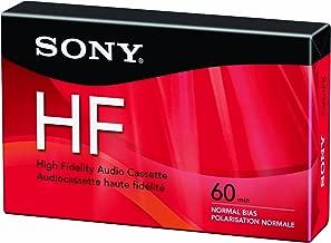 Sony C60HFR Single 60-Minute Type 1 Audio Cassette Tape