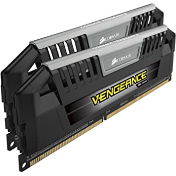 Corsair Vengeance Pro Series 16GB (2x8GB) DDR3 1600 MHZ (PC3 12800) Desktop Memory 1.5V, Black