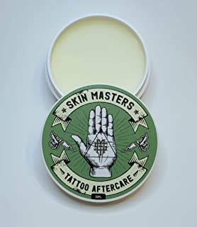 Skin Masters Tattoo Aftercare - Tattoo Balm for After the Tattoo Process - 1 oz