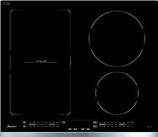Sauter SPI4664X - Plaque à induction - Encastrable - 4 Foyers - Horizone - 7200W - L60 x P52cm - Revêtement verre - Inox -...