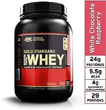 Optimum Nutrition 100% Whey Gold Standard,White Chocolate Raspberry,2lb (0.9 kg)
