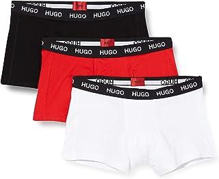 HUGO Men's Trunk Triplet Pack Boxer Shorts