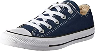 Converse Chuck Taylor All Star Unisex Sneakers, Navy, 4 US