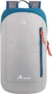 حقيبة ظهر صغيرة صغيرة للاستخدام في الهواء الطلق من Anatoky حقائب الكتب اليومية 10L (رمادي)