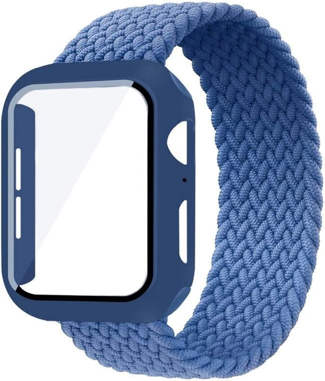 LLMXFC Case+Strap for Apple Watch Band Year-end gift 40mm 44mm 42mm 38mm Brace Indianapolis Mall