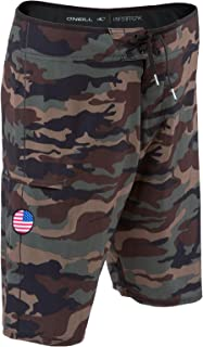 GI Jack Patriotic Hyperfreak Boardshorts With American...