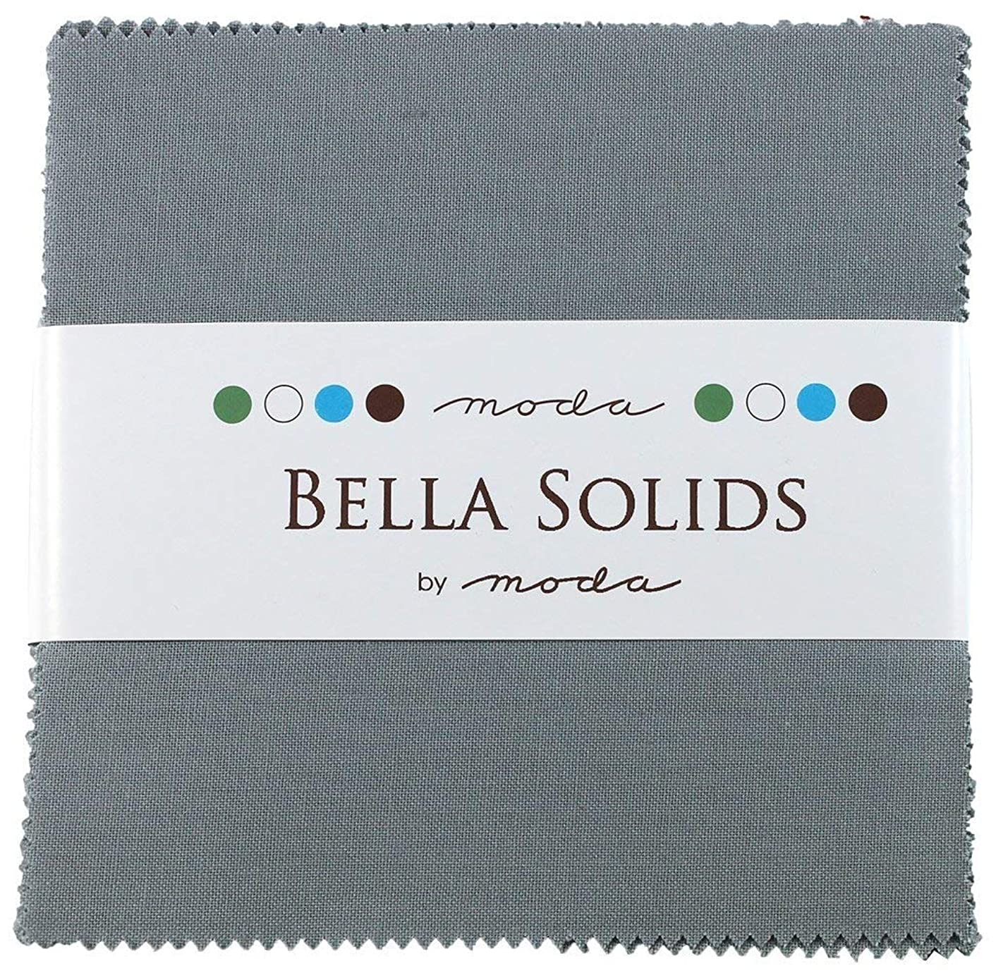 Bella Solids Steel Charm Pack 42 Squares 5