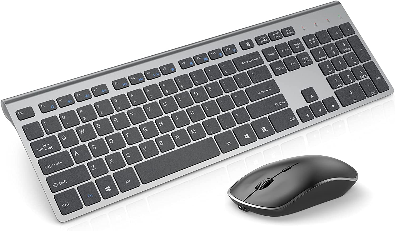 Spring new work Rechargeable Wireless Keyboard Mouse JOYACCESS Combo-J Full 2.4G Brand Cheap Sale Venue