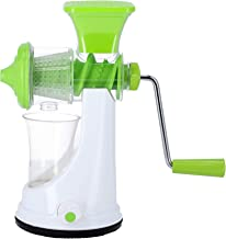 Royalford RF9878 Manual Juicer - Portable Lightweight with Comfortable Handle Wheatgrass Juicer Squeezer for Fruit, Vegeta...