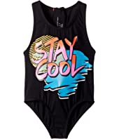 Stella McCartney Kids - One-Piece Stay Cool Swimsuit (Toddler/Little Kids/Big Kids)