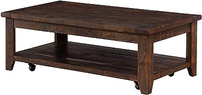 Groovy Amazon Com Loon Peak Somers 42 Wood Metal Coffee Table Ibusinesslaw Wood Chair Design Ideas Ibusinesslaworg