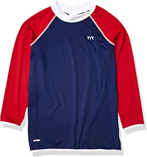 TYR Boys Solid Rash Guard
