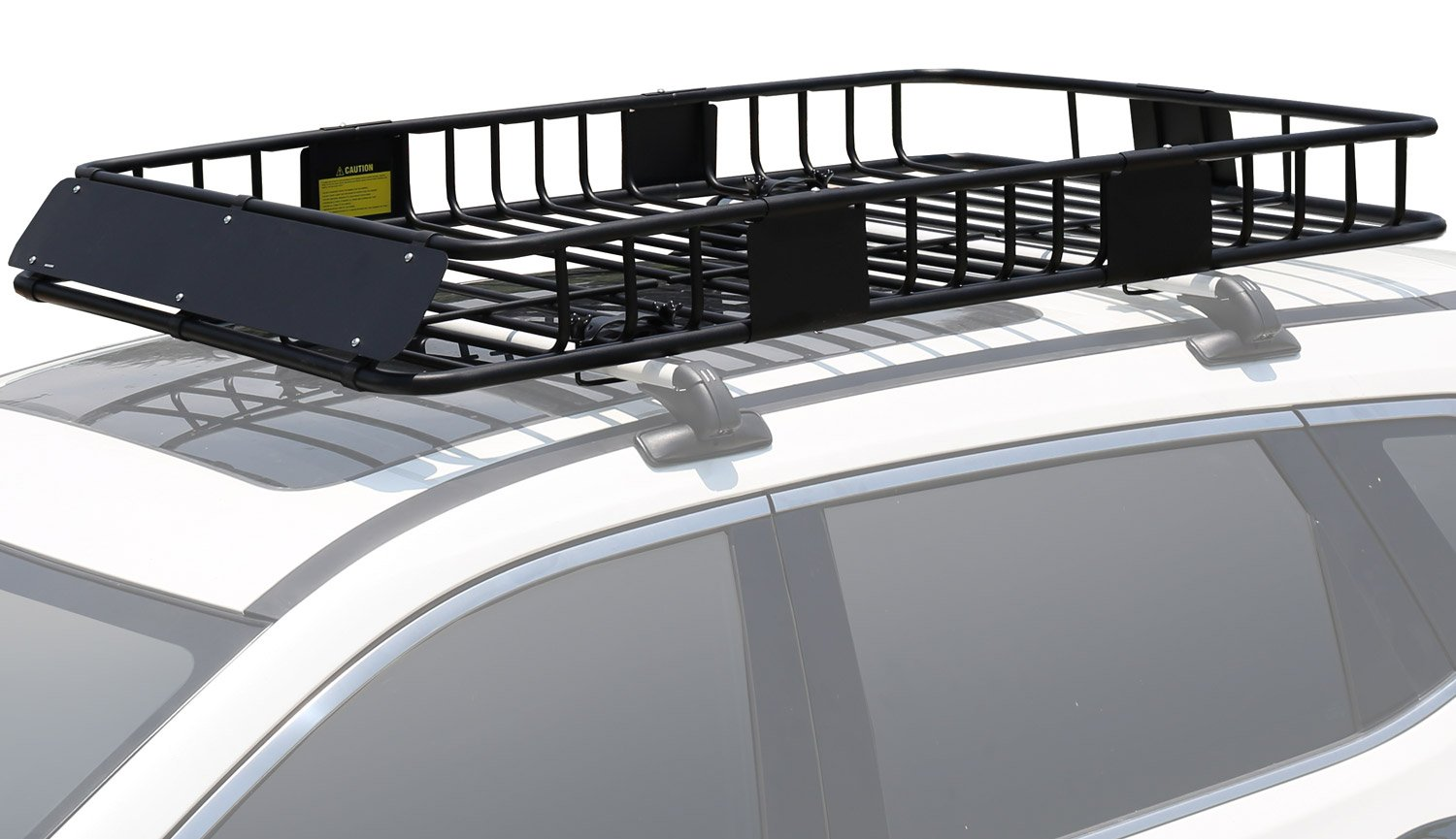 "Leader Accessories Roof Rack Cargo Basket with 150 LB Capacity Extension  64""x 39""x 6' Car Top Luggage Holder Carrier Basket Fit for SUV Truck Cars:  Amazon.com.au: Automotive"
