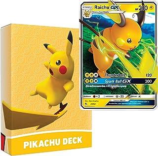 Pokemon Pikachu Deck | Ready to Play 60 Card Starter Deck | Includes Raichu GX | Perfect for Beginners Raichu Theme Deck |...