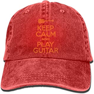 keep calm and play guitar poster