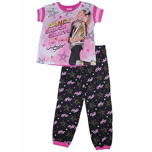 e1e8e39d7942 Nickelodeon Jojo Siwa Jojo Siwa Dance Girls Pajamas 6-12