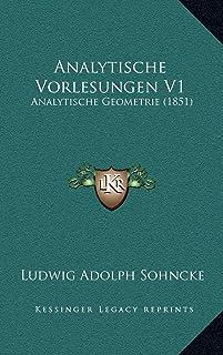 Analytische Vorlesungen V1: Analytische Geometrie (1851)