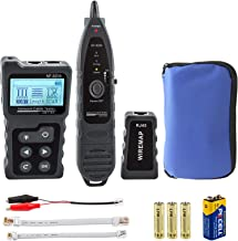 Network Cable Tracker, PoE Tester for CAT5e/CAT6/CAT6a, Wire Checker with NCV, Identify PSE Standards, Test Physical Statu...