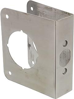 """Ultra Hardware 59017R1 Door Reinforcer 1-3/8"""" X 2-3/8"""" X 4-1/2"""" DR RF 1-3/8 X 2-3/8 X 4-1/2 SS, 40 Piece"""