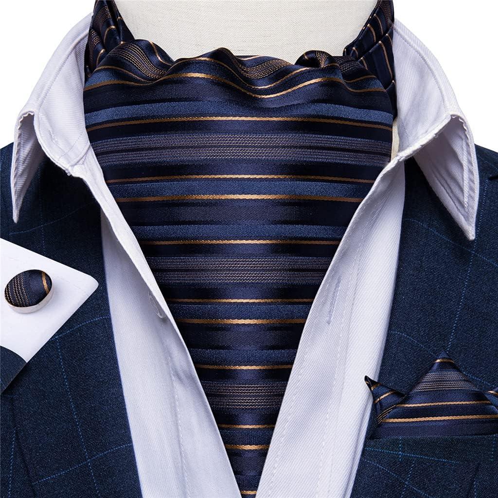 GYZCZX Mens Tie Set Floral Cravat Tie Homme Silk Vintage British Style Self Tie for Wedding Party Suit Accessories (Color : 5, Size : One Size)