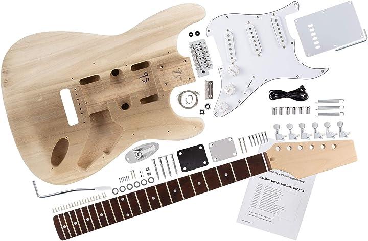 Rocktile st-style kit chitarra elettrica 00024360