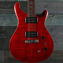 PRS SE Paul's Guitar Figured Maple Top Fire Red w/Gig Bag