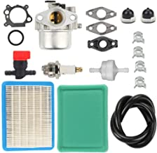 Harbot Carburetor Tune-up kit with Air Fuel Filter Line Shutoff Valve for Briggs& Stratton 794304 796707 799866 790845 799871 Craftsman Toro